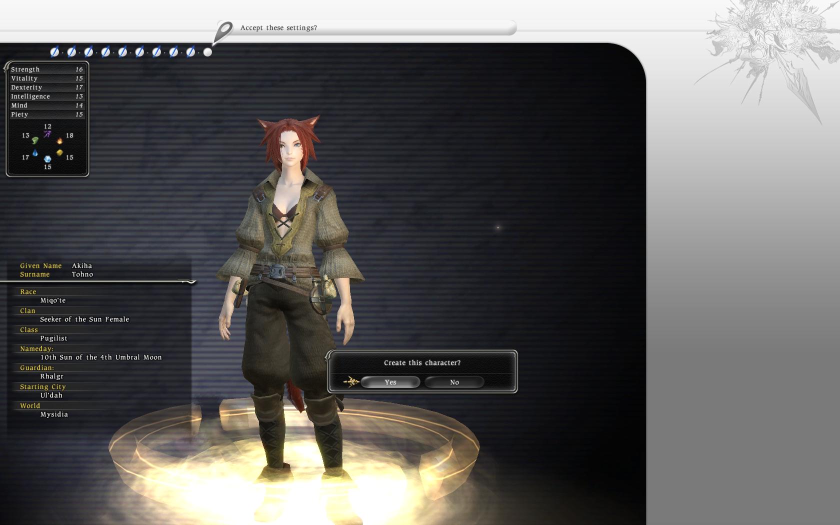 ffxiv beta beginnings on mysidia visions of final fantasy xiv
